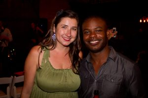 Kate Hatmaker and Demarre McGill [photo courtesy of Art of Elan]