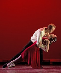 Maxim Tchernychev and Stephanie Maiorano in a scene from San Diego Ballet's 'Don Juan.' Photo: Manuel Rotenberg