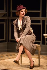 Amanda Quaid as the grownup Kay in the Old Glbe Time and the Conways. Jim Cox Photo