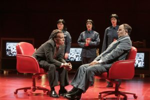 "A scene from John Adams' ""Nixon in China"" [photo (c) Ken Howard/Opera St. Louis]"