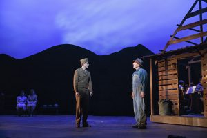 A. J. Shively and Stephen Bogardus in Old Globe Theatre's Bright Star. Joan Marcus Photos