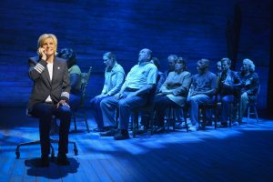 Jenn Colella in Come From Away at La Jolla Playhouse. Kevin Berne Photo