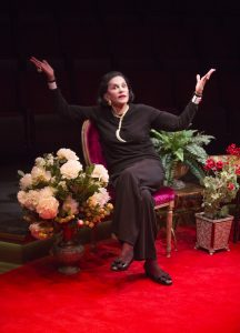 Mercedes Ruehl as Diana Vreeland at the Old Globe. Jim Cox Photo.