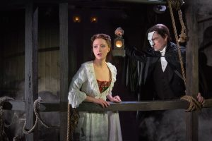 Katie Trais and Chris Mann in The Phantom of the Opera. Matthew Murphy Photo