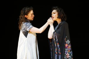 Adina Verson and Katrina Lenk in Indecent at La Jolla Playhouse. Carol Rosegg Photo