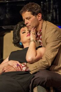 Eileen Bowman and Jeffrey Jones in Intrepid Theatre's End of the Rainbow. Daren Scott Photo