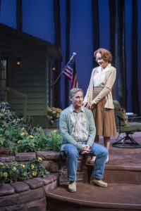 Richard Thomas and Hallie Foote in Camp David at The Old Globe Theatre. Jim Cox.
