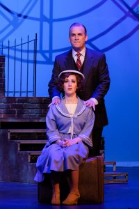 Robert J. Townsend* - Julian Marsh & Ashley Ruth Jones - Peggy Sawyer. Photo: Ken Jacques