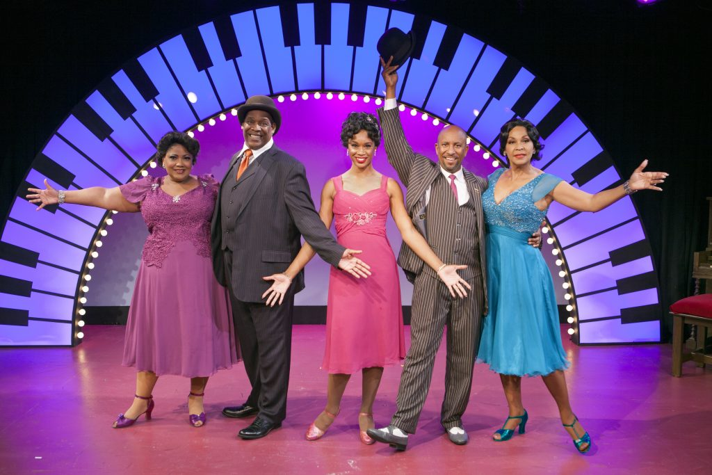 Cast of Ain't Misbehavin.' (Photos courtesy of  Aaron Rumley.)