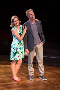 Jenna Fischer and Greg Germann Meteor Shower at the Old Globe.