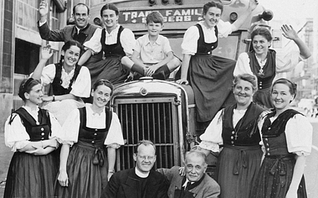 With Maria as its anchor, The von Trapp Family Singers did what they did best for a time.