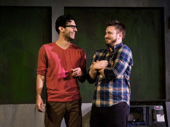 Probing, High-Voltage Romantic Parable Opens at Diversionary Theatre