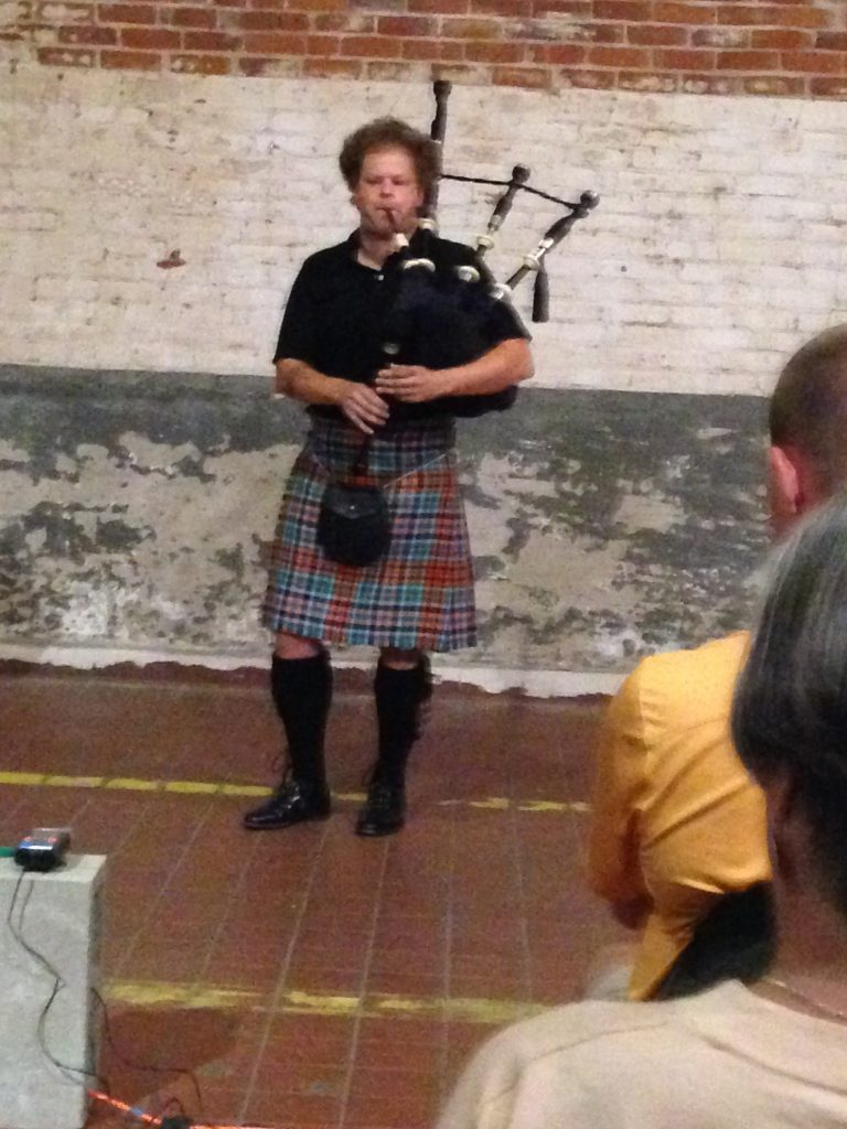 Matt Welch and His Great Highland Bagpipe Conquer Bread & Salt